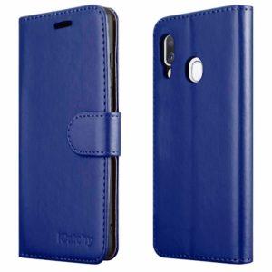 Samsung-Galaxy-A40-Case Wallet-Blue